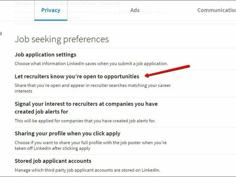 Resume Companies | Full Guide To Linkedin 2019 Settings For Jobseekers
