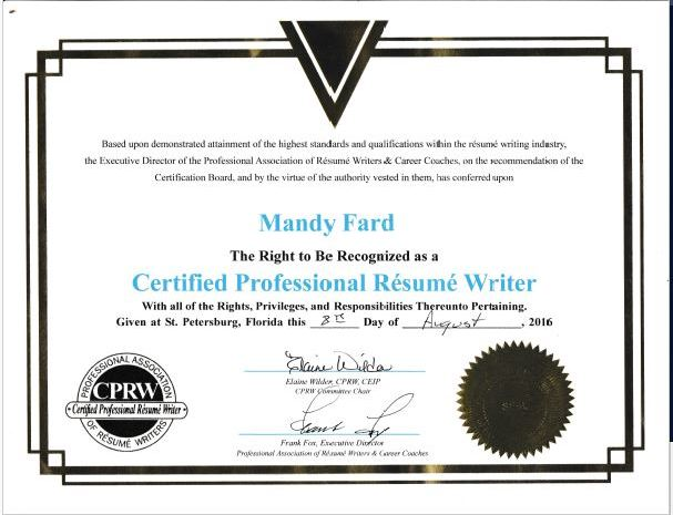 certified resume writer linkedin resume writer cprw professional