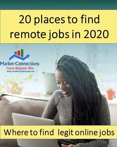 Where to find legit jobs online in 2020 brought to you by https://www.market-connections.net