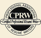 Picture of certification as a CPRW for https://www.market-connections.net