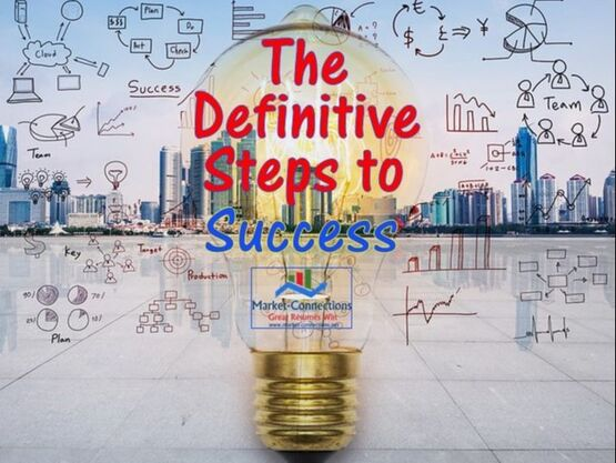 How to become successful, presented by https://www.market-connections.net