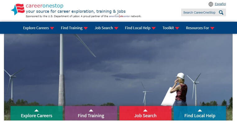 Picture CareerOneStop website