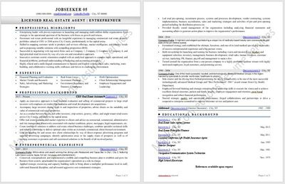 Resume example 2020, resume design 2020 by https://www.market-connections.net Jobseeker 5