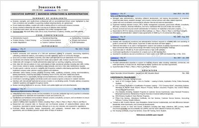Resume example 2020, resume design 2020 by https://www.market-connections.net Jobseeker 6