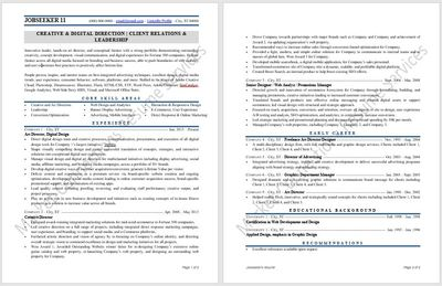 Resume example 2020, resume design 2020 by https://www.market-connections.net Jobseeker 11