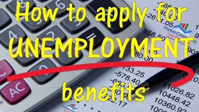 Learning to apply for unemployment benefits - posted by https://www.market-connections.net