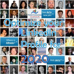 Instructions on how to optimize your LinkedIn profile for 2020 - Posted by https://www.market-connections.net