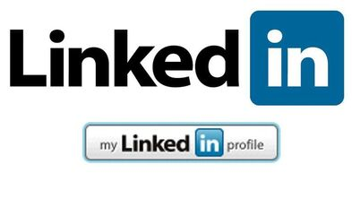Picture of LinkedIn logo and content to explain how LinkedIn can help one's career