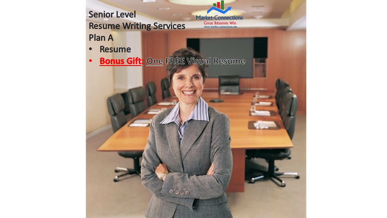 senior executive resume writing service